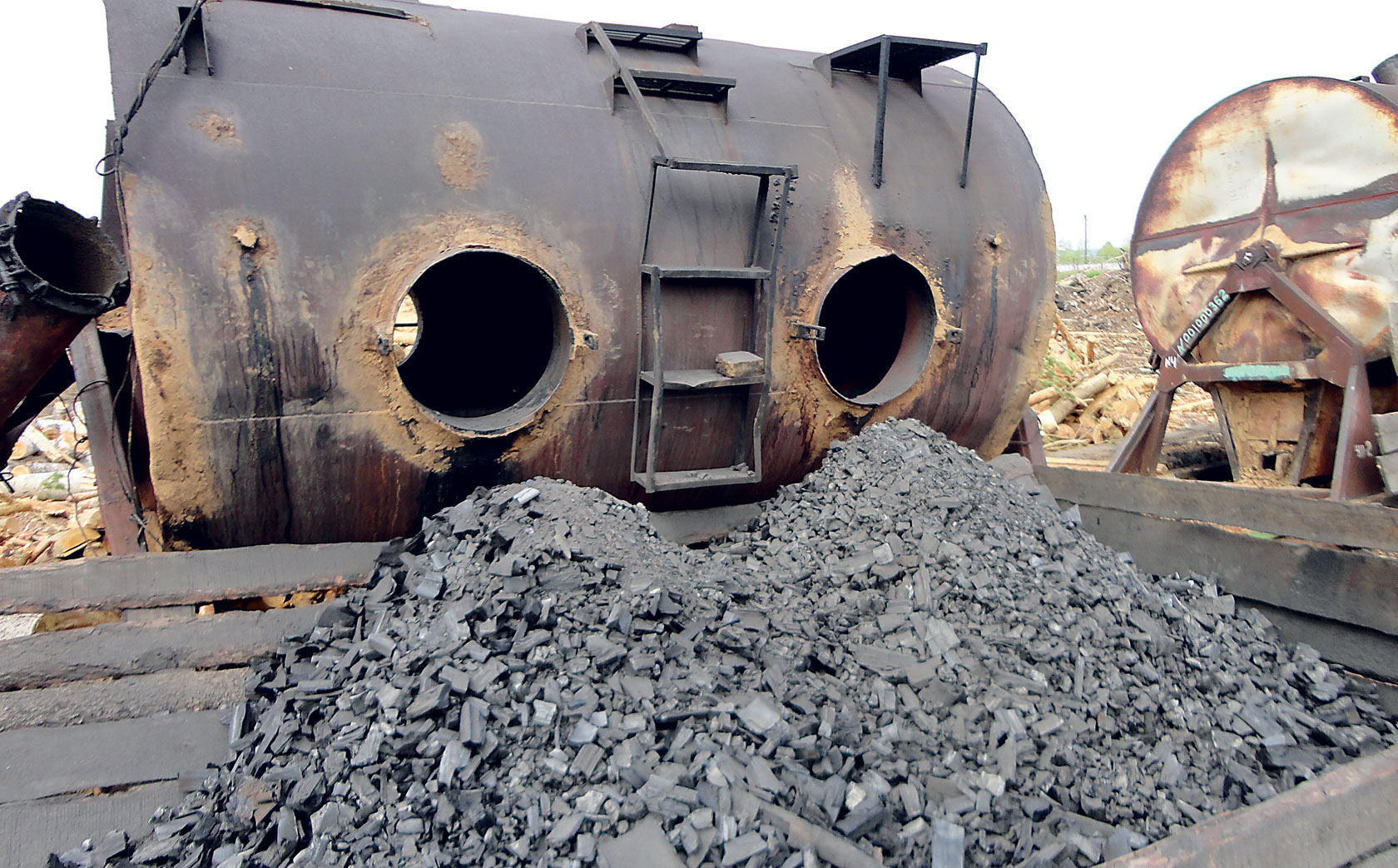 Производства угля своими руками